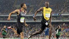 Šok: Bolt se křenil na De Grasse, Gatlin vypustil závěr a finále dvoustovky nepoběží