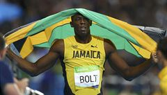 Bolt má osmé olympijské zlato, na dvoustovce za ním doběhl 'kámoš' De Grasse