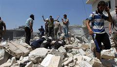 'Je to hnízdo teroristů'. Rusko opět začalo bombardovat syrskou provincii Idlib