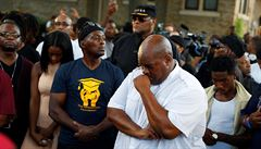 Trump hájil policistu, který zastřelil černocha v Milwaukee