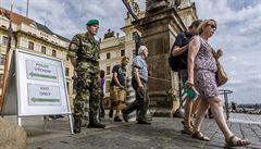 Pražský hrad dočasně ruší vstupní kontroly do areálu, v pondělí se otevře veřejnosti