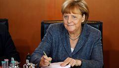 S IS máme problém léta, běženci do Německa islamistický terorismus nepřinesli, řekla Merkelová