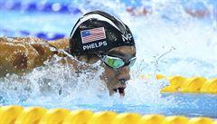 Fenomenální Phelps má stejně zlatých jako Češi z obou olympiád. Ještě nejsem u konce, varuje soupeře