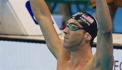 Nezastavitelný Phelps. Své 22. zlato z her získal v polohovce s obrovským náskokem