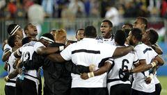Fidži má první zlato z her. Ve finále ragby deklasovalo Brity 43:7