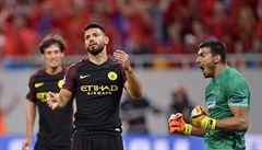 One man show Agüera. V boji o Ligu mistrů dal hattrick a zahodil dvě penalty
