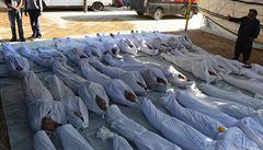 Syrská opozice hlásí plynový útok a 1300 obětí, Damašek to popírá