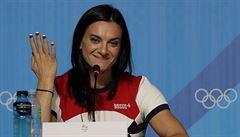 Isinbajevová naštvala tyčkařky. Vaše medaile jsou při mé absenci méněcenné, řekla