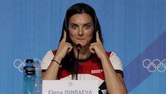 Odcházím, řekla ruská tyčkařka Isinbajevová a ve 34 letech ukončila kariéru