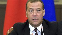 Medveděv: Nečekáme, že USA hned zruší sankce, ale postupné sblížení. Toho se obává Ukrajina