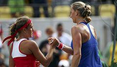 Češky na finále nedosáhly: Kvitová, H+H i Strýcová se Šafářovou si zahrají 'jen' o bronz