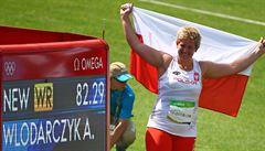 Polská královna Wlodarczyková překonala svůj vlastní světový rekord a nadále vládne kladivu