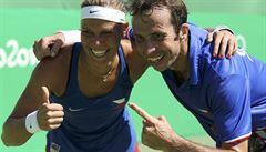 Českou tenisovou 'dobu bronzovou' protáhli Štěpánek a Hradecká. Murray vstoupil do historie