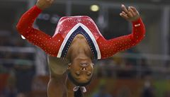 Bilesová rozšířila svoji rekordní sbírku na 19 zlatých medailí, na MS vyhrála na kladině i prostných