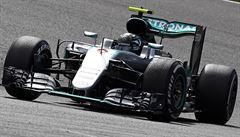 ON-LINE Velkou cenu Belgie přerušila havárie. Rosberg udržel vedení až do cíle