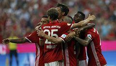 Gebre Selassie si protrpěl debakl od Bayernu, Lewandowski nastřílel hattrick