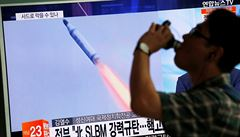 KLDR vypálila k Japonsku balistickou raketu z ponorky, letěla dál než kdykoli předtím