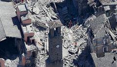Střední Itálii po dvou měsících postihlo opět silné zemětřesení. Nejméně dva zranění