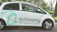 V Singapuru jezdí samořídící taxíky