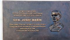 V Roudnici odhalili pamětní desku odbojáři Josefu Mašínovi