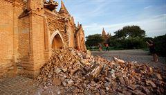 Přes 200 chrámů zničeno. Zemětřesení zasáhlo oblíbenou destinaci a kandidáta UNESCO
