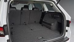 Škoda Kodiaq se chlubí superkufrem. Pro zavazadla nabízí 2065 litrů