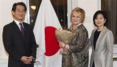 Japonci jsou smrtí Čáslavské hluboce zarmoucení, říká český japanolog