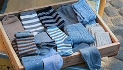 Věčný problém. Jak vám může věda pomoct roztřídit ponožky?