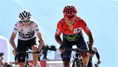 Quintana udržel náskok před Froomem a poprvé vyhraje Vueltu