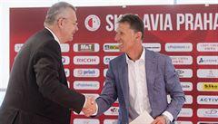 Fotbalová Slavia je bez trenéra. Vedení odvolalo Šilhavého, nástupce neoznámilo