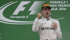 V Itálii vládl Rosberg, na Hamiltona už ztrácí jen dva body