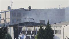 Hasiči znovu zasahovali v Brně u malých skrytých ohnisek