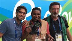 Oči nosím ve svém srdci, říká první nevidomý fotograf na paralympiádě v Riu