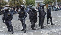 Na akce 17. listopadu budou dohlížet stovky policistů, počítá se s posilami z krajů