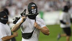 Slezské derby plné výtržností ovládl Baník, jeho fanoušci řádili nejen na tribunách