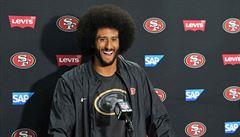 Koupí si návrat? Odstrčený 'klekající fotbalista' Kaepernick chce podíl v klubu NFL