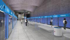 Praha chce postavit metro D nejdřív bez stanic. Jezdilo by se jen na konečnou a na přestup