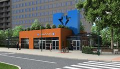 Pozemek u stanice metra D Olbrachtova získala ruská firma. Vydražila ho za půl miliardy