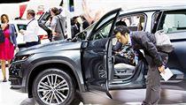 Mladoboleslavská automobilka Škoda Auto představila 29. září na autosalonu v Paříži velké SUV Škoda Kodiaq.