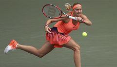 Kvitová vyhrála bez ztráty setu Elite Trophy, ve finále porazila Svitolinovou