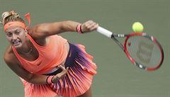 Sen o Turnaji mistrů se rozplynul. Kvitová vypadla v Pekingu ve čtvrtfinále