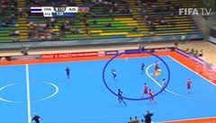 VIDEO: Futsalisté Ázerbájdžánu nasázeli v prodloužení MS šest gólů. Poslední gólman