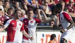 Slavia ztratila s Jabloncem. Alespoň bod zachránil v závěru Mešanović