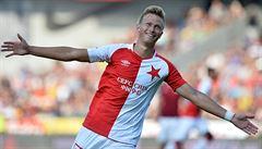 Slavia opět rozhodla o výhře až v závěru. Teplice si vstřelily vlastní gól