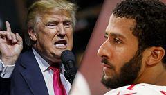 Za klečení při hymně ho kritizoval Trump, Nike se sportovcem natočil reklamu. Následoval pád akcií