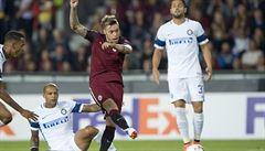 Sparta senzačně skolila třetí tým italské ligy, Interu Milán nasázela tři branky