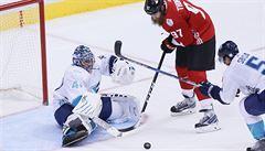 Kanada porazila Výběr Evropy na Světovém poháru v Torontu a vyhrála skupinu
