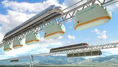 Vlak ve výšce, rozpojovací MHD a 'měsíční' auto. Podívejte se, jak budeme cestovat