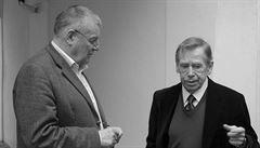 Havel 80: Havel bojoval proti frázím a antijazyku, vzpomíná publicista Hvížďala