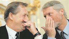 Havel 80: Na početí jste mě nepřipravil, popsal tiskovku s Havlem Špaček
